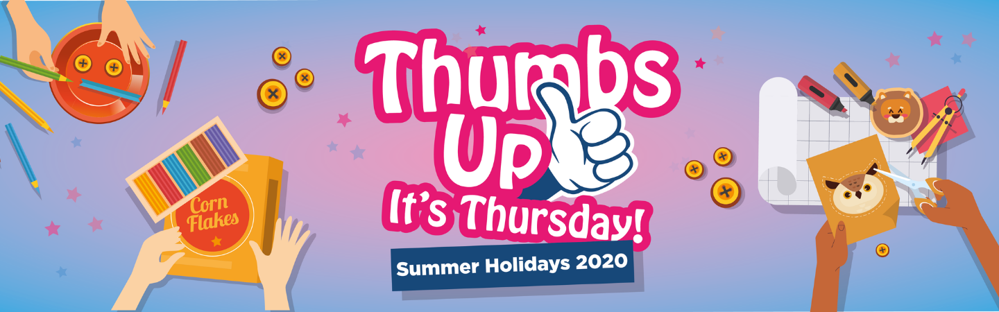 Thumbs Up It's Thursday Logo