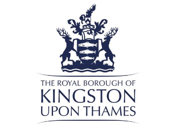The logo for The Royal Borough of Kingston Upon Thames